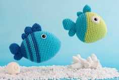 Mesmerizing Crochet an Amigurumi Rabbit Ideas. Lovely Crochet an Amigurumi Rabbit Ideas. Crochet Fish, Love Crochet, Crochet Animals, Diy Crochet, Crochet Crafts, Crochet Sea Creatures, Crochet Projects, Crochet For Kids, Crochet Patterns Amigurumi