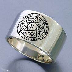 Guarding and Protection Solomon Seal Ring