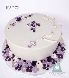 https://flic.kr/p/oz4TiM | R8072-purple-christening-cake-toronto