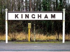 Kingham in Oxfordshire which has a direct line to Paddington London