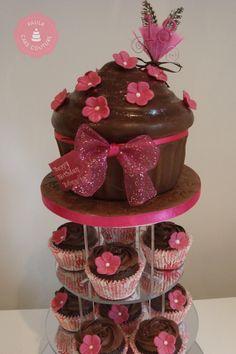 Chocolate Cake Giant Cupcake Chocolate Cupcakes