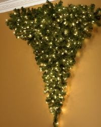 The Upside-Down Wall Christmas Tree