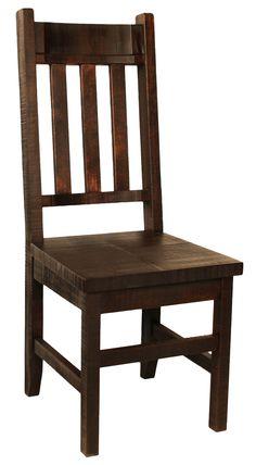 R750B Slat-Back Chair #solidwood #albertamade #handmade #canada #yeg #rusticfurniture