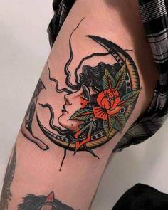 Cute Tattoos, Leg Tattoos, Beautiful Tattoos, Body Art Tattoos, Sleeve Tattoos, Vintage Tattoo Sleeve, Faith Tattoos, Makeup Tattoos, Music Tattoos