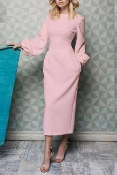 Style Japonais, Elegant Dresses, Formal Dresses, Dresses For Sale, Dresses Online, Mother Of The Bride, Ideias Fashion, Fashion Dresses, Women's Fashion