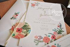 Modelo ''Spring 2''  ♡ #love #amor #amour #amore #remindpress #design #invitaciones #wedding #boda #casamiento #novia #summer #maisamor #weddingideas #weddinginspiration #2015