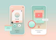 Web Design, App Ui Design, User Interface Design, Branding Design, Website Design Layout, Fancy App, Webpage Layout, Light App, App Design Inspiration