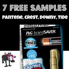 Get a box filled with 7 free samples plus tons of coupons from P http://freebies4mom.com/2013/01/07/7samples/