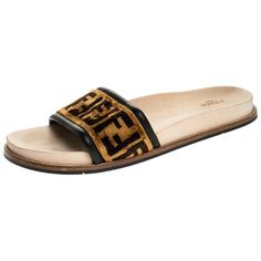 Beige Sandals, The Vamps, Open Toe, Fendi, Prince Images, Footwear, Velvet, Flats, Stylish