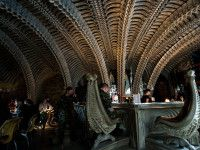 Raise a glass to H.R. Giger at this epic Giger-inspired bar