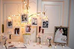 decoration de la table du livre d'or - MARIAGE ORIGINAL