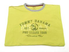 Tommy Bahama XL Pro Leisure Tour Crew Neck T-Shirt Men's Short Sleeve Cotton #TommyBahama #TShirt