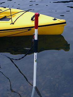 Canoe Kayak Pole Anchor Mud Stick Shallow Water Kayak Anchor Pole with Mounting Clips/Ruler Kayak Fishing Gear, Fishing 101, Kayak Camping, Crappie Fishing, Fishing Boats, Canoe Boat, Kayak Boats, Canoe And Kayak, Jon Boat