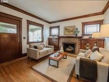 Alberta Arts Craftsman Bungalow In Prime Location. natural woodwork, new remodeled kitchen, gorgeous wood floors, new SES lighting, fireplace, studio, new interior / ext paint + new sewer, new radon mitigation system, new furnace and more. front porch welcomes urban connections. $430K (Already Pending)