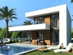 Own a modern new style villa in southern spain