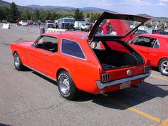 Mustang station wagon in Illinois  Design Love  Pinterest  This