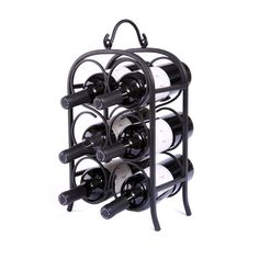 Found it at Wayfair - Arch 6 Bottle Tabletop Wine Rack