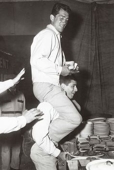 Dean Martin and Jerry Lewis. They were great together!