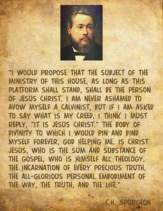 spurgeon quotes   calvinistic cartoons the person