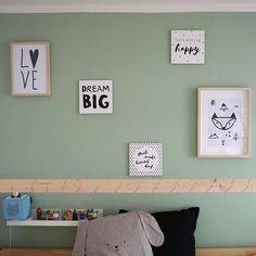 Kinderzimmer Ideen für kleine Zimmer für Jungen und Mädchen | mini-presents Blog Dream Big, Kids Room, Sweet Home, Gallery Wall, Presents, Home Decor, Mini, Blog, Bedroom