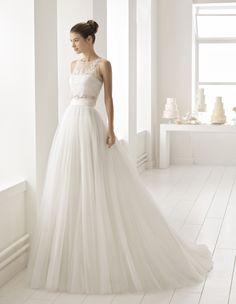 Robe Basilea #collection 2018 #airebarcelona ! #robesdemariee #robes #wedding #weddingdress #dress #bridal #mariée #mariage