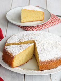Easy Cake Recipes, Sweet Recipes, Dessert Recipes, Lemon Drizzle Cake, Italian Cake, Torte Cake, Yogurt Cake, Bakery Cakes, Almond Cakes
