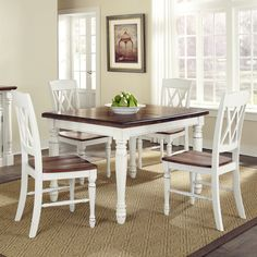Check Out The Powell Furniture 14D204 Harrison 5 Piece Dining Set Priced At  $389.88 At Homeclick.com. | Dining | Pinterest | Powell Furniture, ...