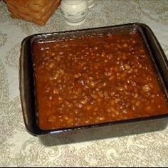 Southern Baked Beans on BigOven: Perfectly seasoned for that summer barbeque or whenever you want to eat them! Very quick and easy to make!