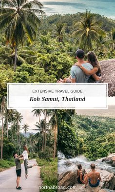Traveling to Koh Samui island in Thailand? This travel guide has everything you need to know including things to do what to see most beautiful beaches lots of pictures where to eat the best food and more! Thailand Travel, Asia Travel, Bangkok Travel, Places To Travel, Travel Destinations, Koh Samui, Samui Thailand, Buddha Garden, Thai Islands