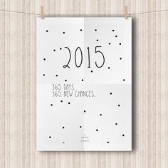 Happy New Year & Printable: Calendar 2015! | Peek Inside
