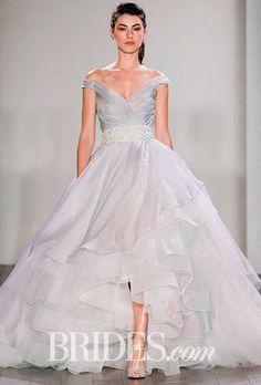 Lazaro Wedding Dresses - Fall 2016 - Bridal Runway Shows - Brides.com : Brides.com