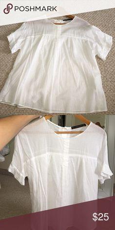 Zara white summer blouse White soft blouse from Zara Zara Tops Blouses