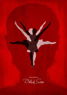 Black Swan movie poster re-imagined