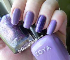 Zoya Malia with Zoya Mimi accent nail