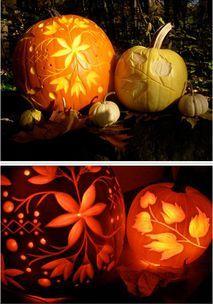 Over 700 FREE Halloween pumpkin carving patterns...