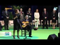 Estrella Morente canta el himno de Andalucía