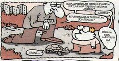 Kaplumbağalar neden evlerini sırtlarında taşırlar: Hastasın Sen | karikatür