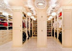 OMG!!!!! My Dream closet!!!!!!