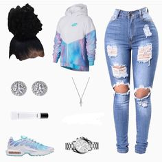 Girls Sets & Outfits for Teens Nike Outfits, Swag Outfits For Girls, Teenage Girl Outfits, Cute Outfits For School, Cute Casual Outfits, Teen Fashion Outfits, Prom Outfits, Fashion Tips, Jugend Mode Outfits