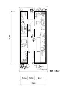 Architects: ON design partners  Location: Nezu, Bunkyo-ku, Tokyo, Japan  Construction: Shinei  Structure: Ryuji Tabata/ASD  Site Area: 30.07 sqm  Total Floor Area: 50.70 sqm  Area: 18.03 sqm  Photographs: Ikunori Yamamoto