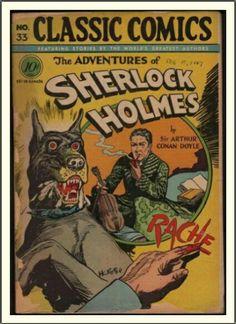 The Adventures Of Sherlock Holmes Comic