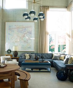 living room ideas for your home, simple and confy space, blue sofa, interior design, for more ideas and inspirations: http://www.bocadolobo.com/en/inspiration-and-ideas/