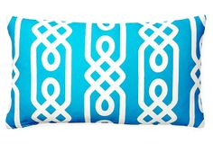 Aegean 14x24 Outdoor Pillow, Aqua on OneKingsLane.com