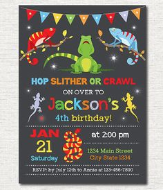 Little cute dinosaur birthday invitation free thank you cards reptiles birthday invitation reptile invite reptile party printable filmwisefo Image collections