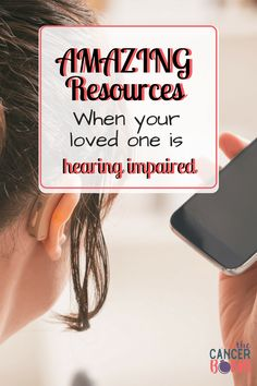 When someone is hearing impaired, it makes the cancer journey so much more difficult. Increasing your awareness of the resources that can help your loved one communicate will change everything. We have found some AMAZING products that have helped our journey tremendously.  #resourcesforhearingloss #helpingyourlovedoneunderstand #amazingproducts #advancedtechnology #qualityoflife
