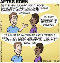 Inconsistent evolutionists