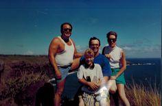 1990 - Hawaii - Exploring Maui with Lynn, Stephanie, and Charlene