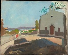 Henri Matisse - Chapel of Saint Joseph, Saint-Tropez 1904