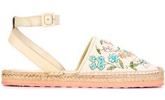 'Summer trends 2016': Oda floral - Espadrilles with Flowers: Red Valentino