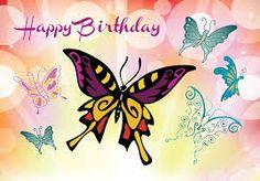 118 Mejores Im 225 Genes De Happy Birthay Butterfly Happy